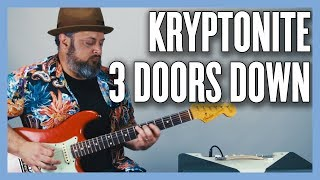 Gambar cover Kryptonite 3 Doors Down Guitar Lesson + Tutorial