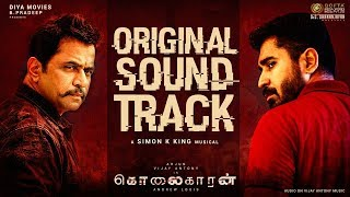 Kolaigaran - Original Sound Track   Arjun, Vijay Antony, Ashima   Andrew Louis   Simon K.King