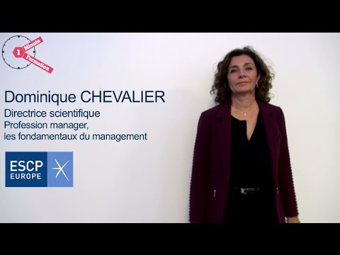 1 MINUTE 1 FORMATION - Programme Manager - ESCP Europe
