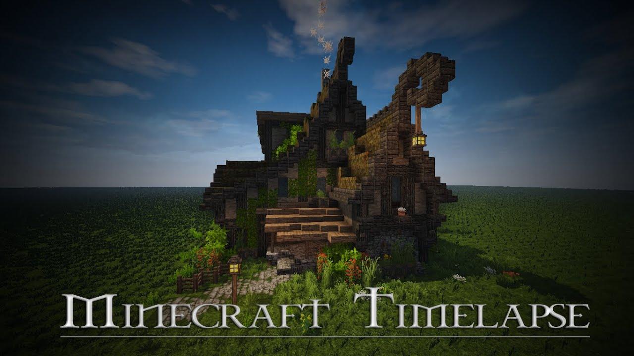 Boitameu Minecraft Timelapse Rustic Fantasy House