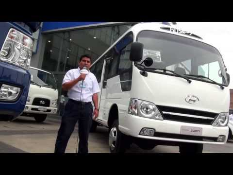 Hyundai County 2012 l Video en Full HD l Presentado por BUSESYCAMIONES.pe
