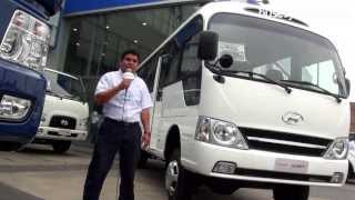 Hyundai County 2012 l Video en Full HD l Presentado por BUSESYCAMIONES.pe