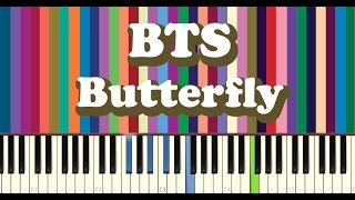 BTS(방탄소년단) - Butterfly piano cover
