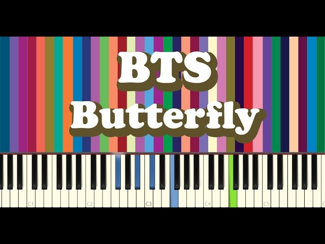 BTS(방탄소년단) - Butterfly piano cover Chords - Chordify