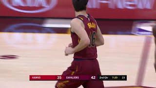 2nd Quarter, One Box Video: Cleveland Cavaliers vs. Atlanta Hawks