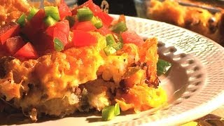 Bacon Cheeseburger Tot Casserole - Casserole Queens