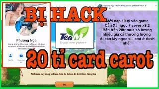 NTT TV - Sự thật Teamobi bị bug 20 tỉ card carot và người đứng đằng sau - AZMOD ???-Ngọc Rồng Online
