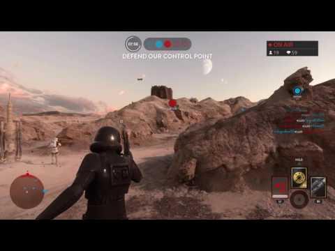 Star Wars Battlefront Gameplay PS4