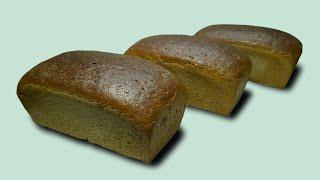 Украинский формовой хлеб на жидкой закваске ГОСТ