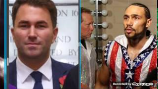 KEITH THURMAN SIGNS WITH EDDIE HEARN ON DAZN TO FIGHT JESSE VARGAS!!!