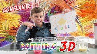 PEINTURE 3D ET GONFLANTE ! CRASH TEST ! 🎨