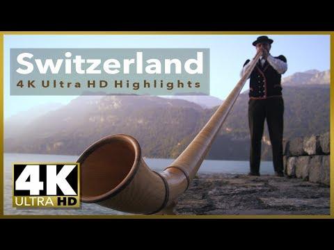 Switzerland 4k UHD Stock Video Footage