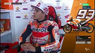 Qualifying MotoGP Aragon 2018