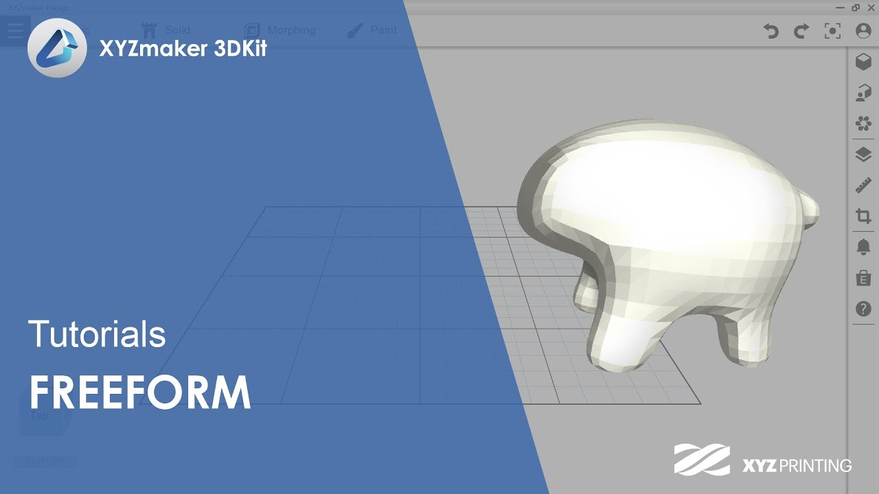 XYZmaker 3DKit Tutorials l Freeform