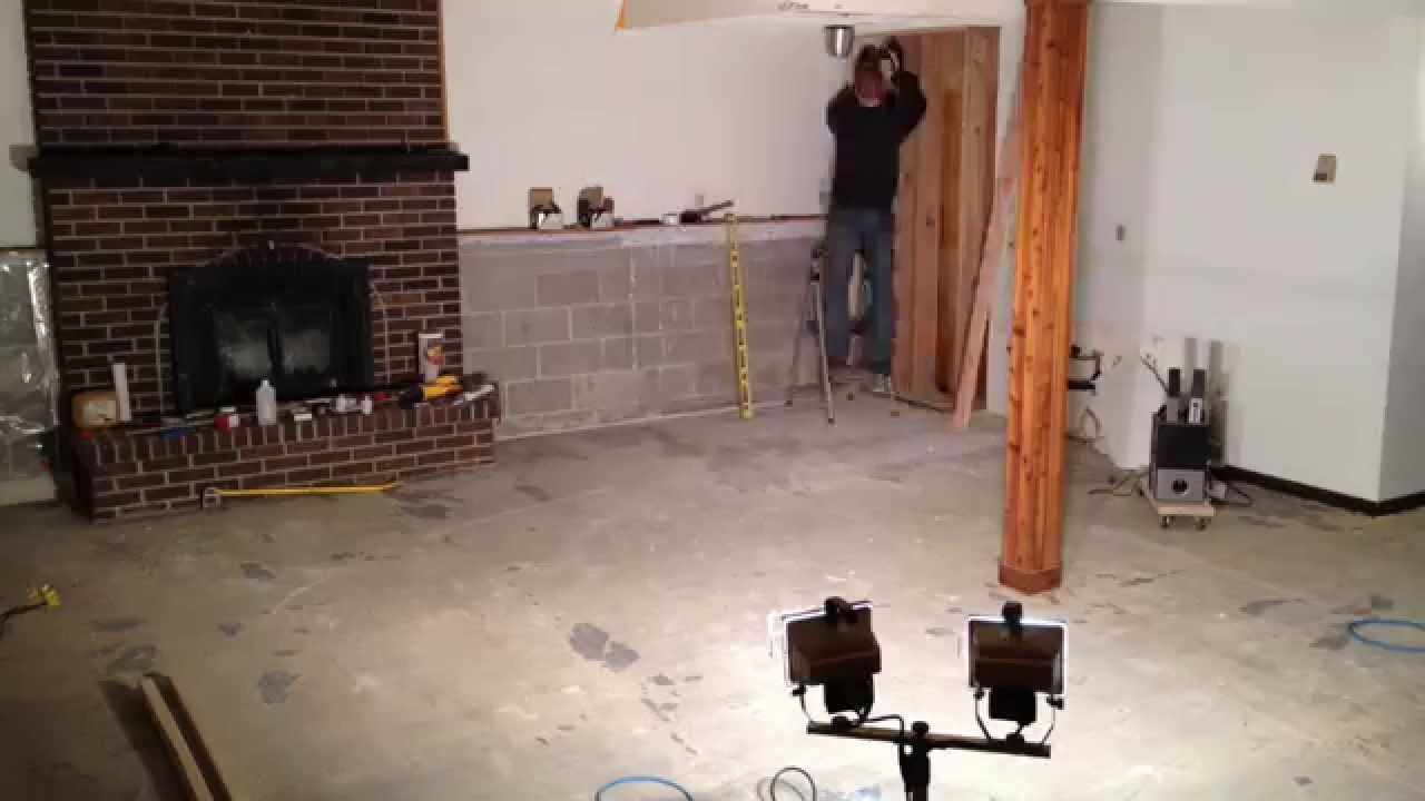 Disused Basement Living Room To Master Suite Conversion Youtube