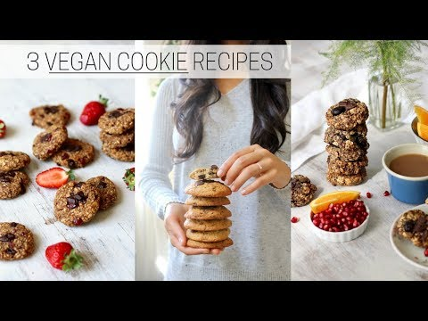 VEGAN COOKIE RECIPES » Healthy + Indulgent