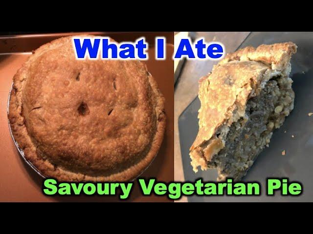 What I Ate: Vegetarian Savoury Pie | Feb 19