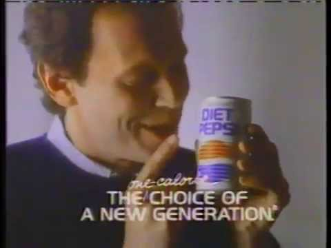 Billy Crystal 1986 Diet Pepsi Commercial