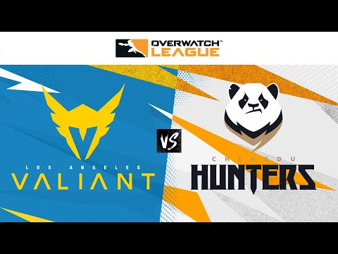 C Hunters vs LAV - Overwatch League 2021 - Map 4