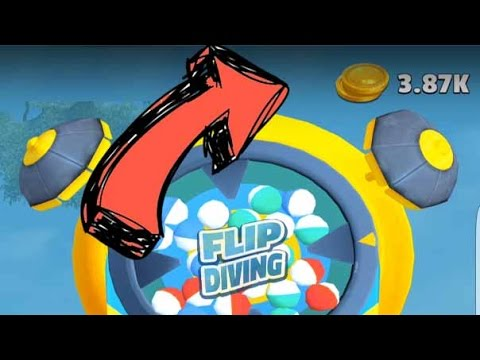 How to Get TONS of Gold in Flip Diving!