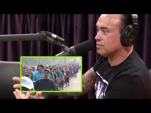 Joe Rogan - Eddie Bravo: Not All Mexicans Support the Caravan