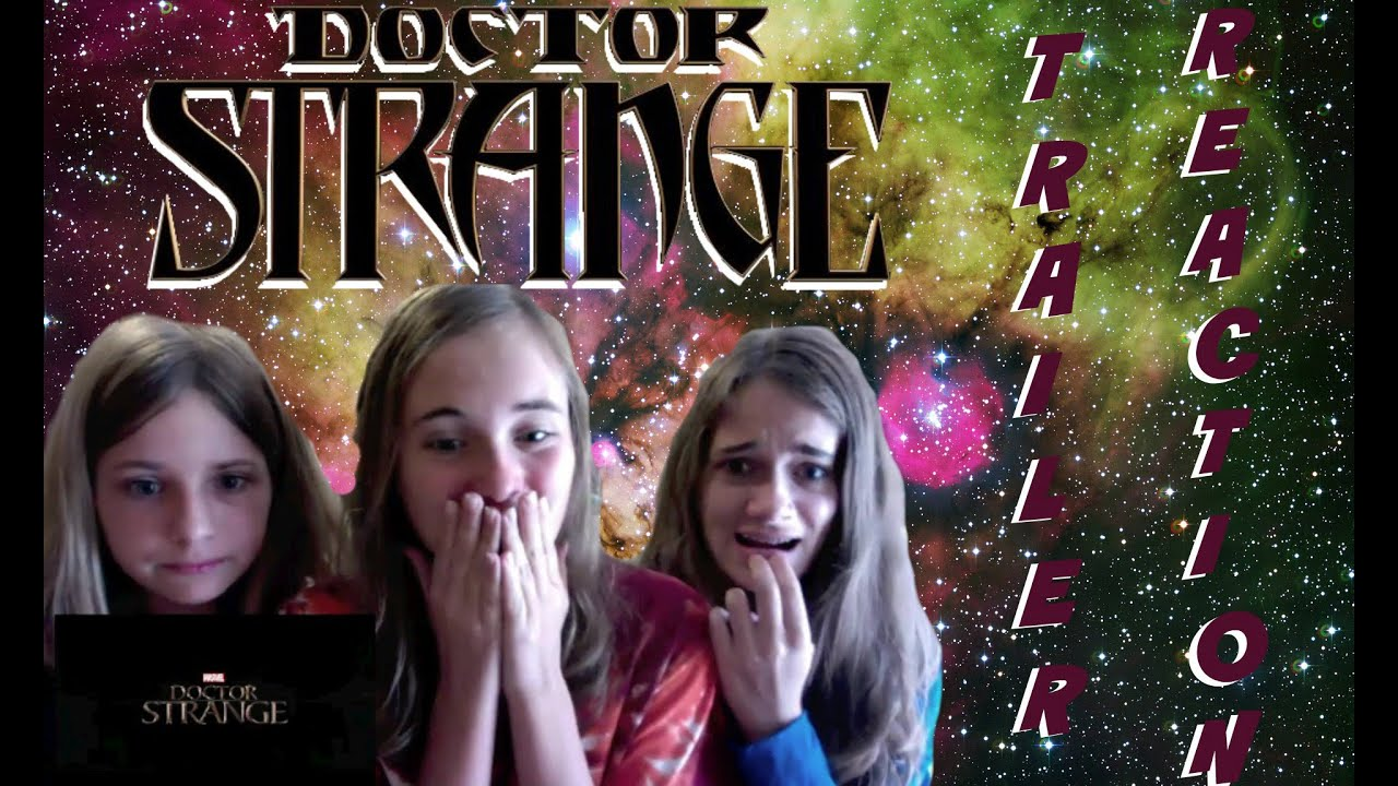 doctor strange teaser trailer reaction