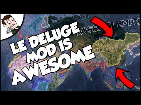 WAR WITH JAPAN! Empire of China - Apres Moi Le Deluge Mod - Hearts of Iron 4 Gameplay Part 1