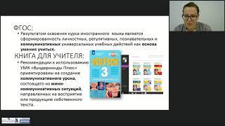 Планирование урока в начальной школе с УМК «Вундеркинды Плюс»: говорение