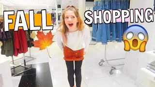 SHOPPING FOR FALL AND CVX LIVE!! Shopping vlog