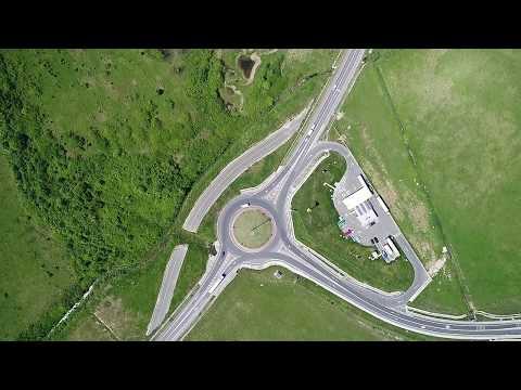 Varianta Ocolire Lugoj, filmare din drona