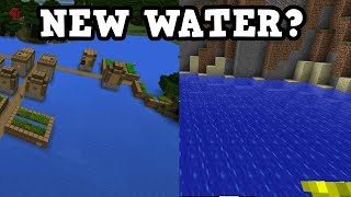 Minecraft Xbox / PE - New Water? Everyones Favourite Question