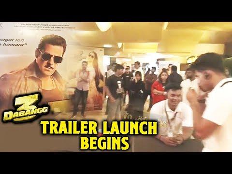 Dabangg 3 Trailer Launch Begins | Fans Excitement | Salman Khan | Chulbul Pandey Mp3