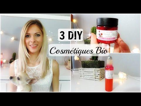 ♡ 3 DIY cosmétiques Bio (Aroma-zone)