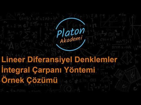 Lineer Diferansiyel Denklemler 1 (İntegral Çarpanı Yöntemi)