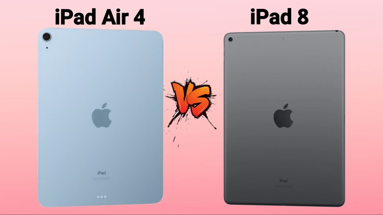 Ipad Air 4 Vs Ipad 8 Full Comparison Which One Is Better Youtube