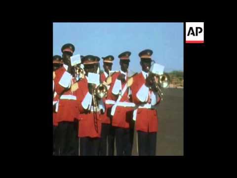 UPI 8-11-73 MAURITANIAN PRESIDENT VISITS CHAD