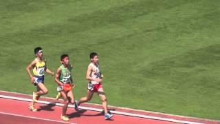 2014年5月16日 千葉県高校総体 男子5000ⅿ予選1組