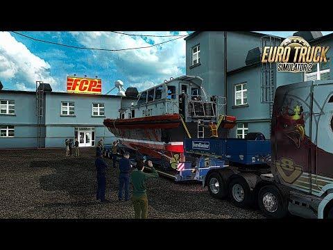 Euro truck Simulator 2 - Beta 1.31 -  Pilot Boat Delivery to Amsterdam