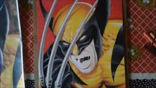 Desenhando/Drawing Wolverine