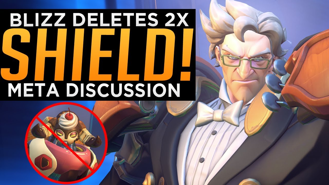 Overwatch: Blizzard DELETES Double Barrier - Meta Discussion
