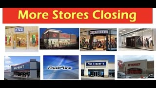 More and More Stores Closing, USD collapse Almost Certain