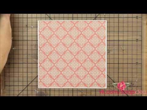 видео: Скрапбукинг для начинающих. МК по новогодней открытке с елочками в стиле оригами.