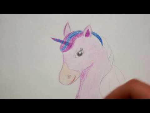 Einhorn Zeichnen Einhornkopf Malen Fur Kinder How To Draw
