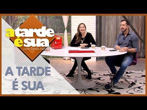 A Tarde é Sua (26/06/18) | Completo