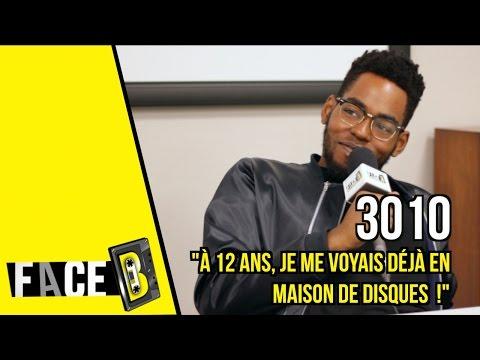 Youtube: 3010:«À 12 ans, je me voyais déjà en maison de disques!»   interview FACE B