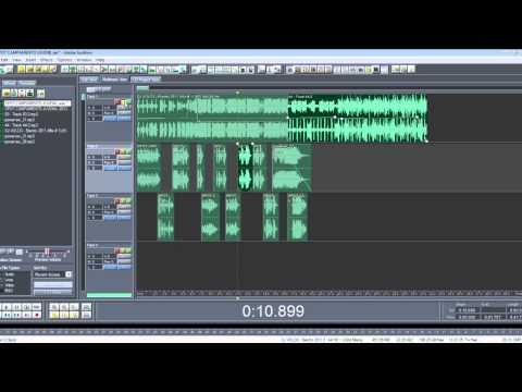 TUTORIAL SPOT RADIO ADOBE AUDITION 1.5
