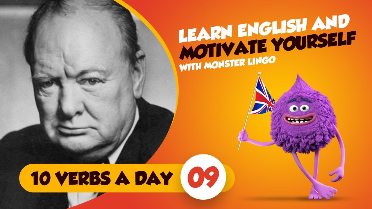 Learn English Verbs Motivational Quotes Multilingual Subtitles Winston Churchill 9 Lesson 9