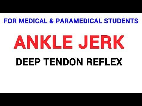 ANKLE JERK | DEEP TENDON REFLEX | CLINICAL LAB | PHYSIOLOGY