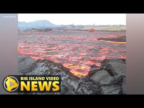 Hawaii Volcano Eruption Update - Saturday Evening (June 16, 2018)