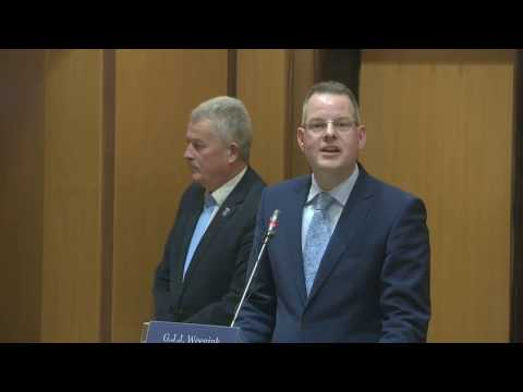 Bekendmaking nieuwe burgemeester Katwijk